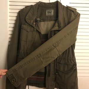 Levi's Women's Cotton Military Jacket